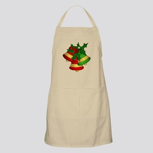 Christmas Bells and Holly Apron