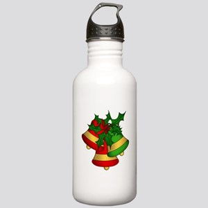 Christmas Bells and Ho Stainless Water Bottle 1.0L
