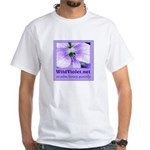 Wild Violet White T-Shirt