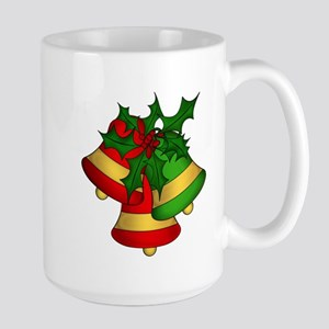 Christmas Bells and Holly Mugs