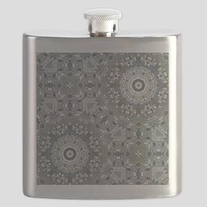 chic GEOMETRIC PATTERN Flask
