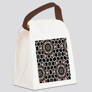 chic GEOMETRIC PATTERN Canvas Lunch Bag