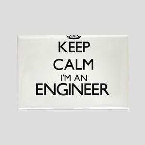 Keep calm I'm an Engineer Magnets