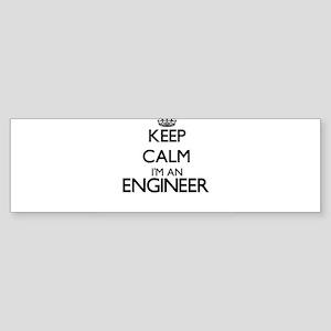 Keep calm I'm an Engineer Bumper Sticker