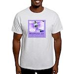 Wild Violet Ash Grey T-Shirt