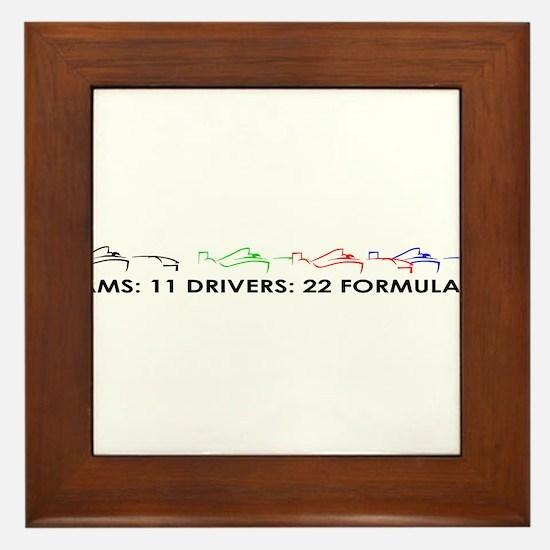 F1 GRID Framed Tile