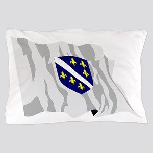 Bosnia Herzegovina Flag Pillow Case