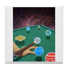 Planet Pool Tile Coaster