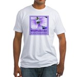 Wild Violet Fitted T-Shirt