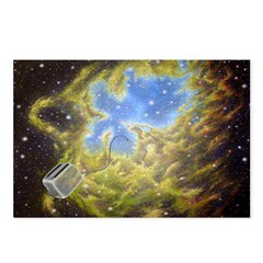 Toaster Passes Nebula Postcards (Package of 8)