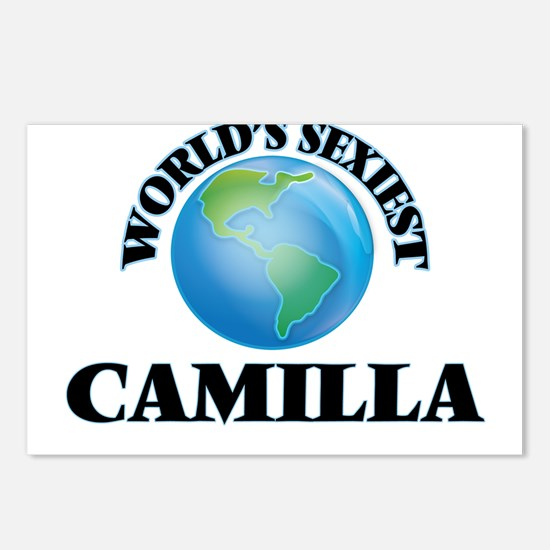 World's Sexiest Camilla Postcards (Package of 8)