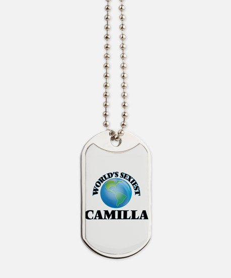 World's Sexiest Camilla Dog Tags