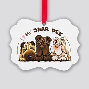 Chinese Shar Pei Lover Ornament