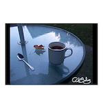 Black Tea In October Postcards (Package of 8)
