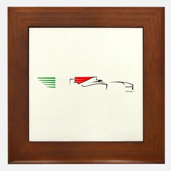 Formula 1 Italy Framed Tile