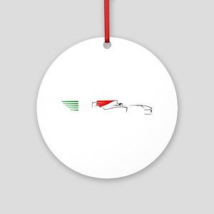 Formula 1 Italy Ornament (Round)