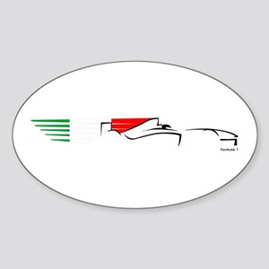 Formula 1 Italy Oval Sticker