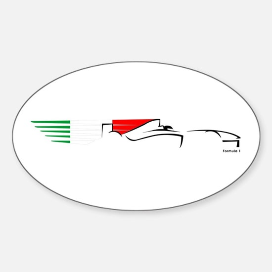 Formula 1 Italy Oval Decal