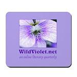Wild Violet Mousepad