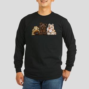 3 Chinese Shar Pei Long Sleeve T-Shirt
