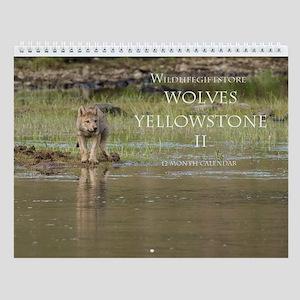 Wolves Ii Wall Calendar