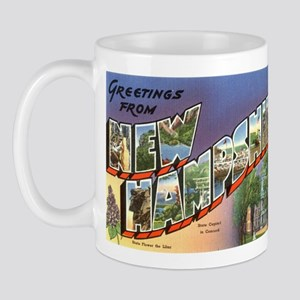 Greetings from New Hampshire Mug