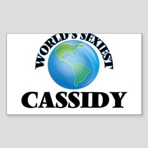 World's Sexiest Cassidy Sticker