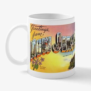 Greetings from New Jersey Mug