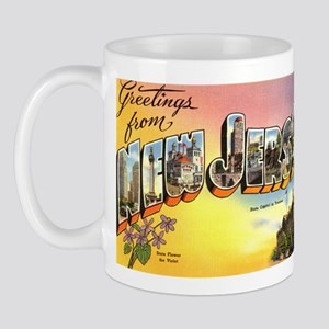 Greetings from New Jersey Mug
