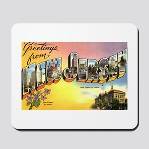Greetings from New Jersey Mousepad