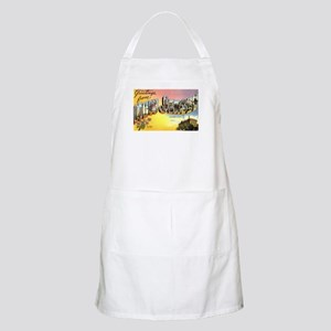 Greetings from New Jersey BBQ Apron