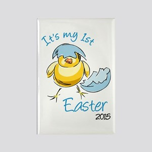 It's My First Easter 2015 Rectangle Magnet