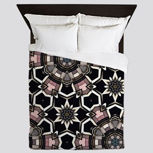 chic GEOMETRIC PATTERN Queen Duvet