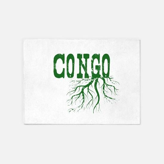 Congo Roots 5'x7'Area Rug