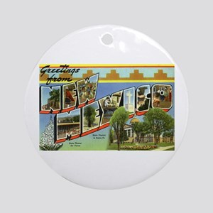 Greetings from New Mexico Ornament (Round)