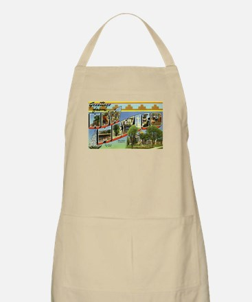Greetings from New Mexico BBQ Apron