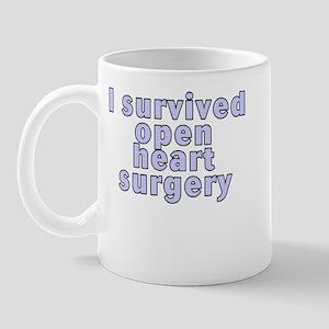 Open heart surgery - Mug