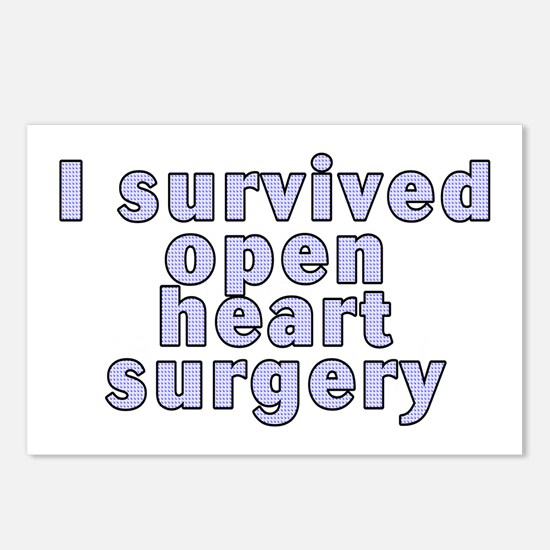 Open heart surgery - Postcards (Package of 8)