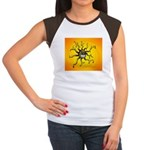 Psychedelic Sun Women's Cap Sleeve T-Shirt