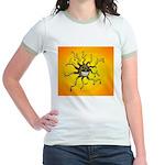 Psychedelic Sun Jr. Ringer T-Shirt