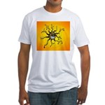 Psychedelic Sun Fitted T-Shirt
