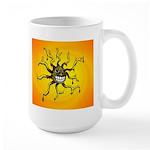 Psychedelic Sun Large Mug