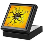 Psychedelic Sun Keepsake Box