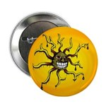 Psychedelic Sun Button