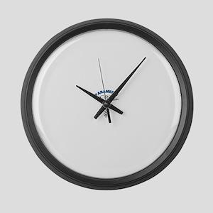 Medic1 Large Wall Clock