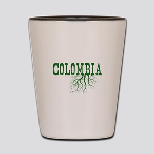 Colombia Roots Shot Glass