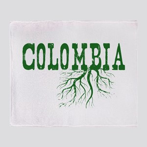 Colombia Roots Throw Blanket