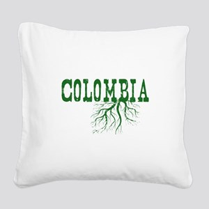 Colombia Roots Square Canvas Pillow