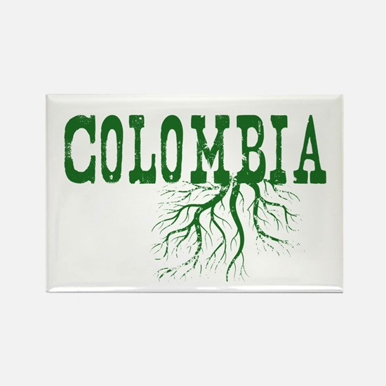 Colombia Roots Rectangle Magnet