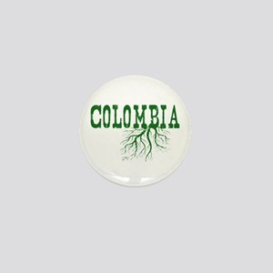 Colombia Roots Mini Button